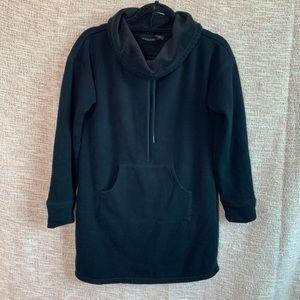 [Tahari] Fleece Lined Sweatshirt Tunic